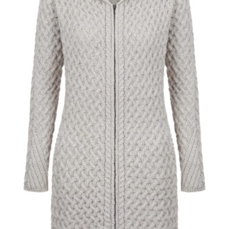a775-coolquay-trellis-hooded-coat-in-silver-marl